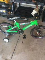 bike with training wheels in Naperville, Illinois
