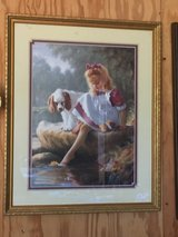 "Girl with her Dog Picture. 211/2"" x 171/2"". in Fort Knox, Kentucky"