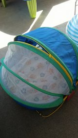 baby beach tent in Yucca Valley, California