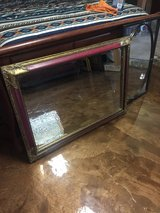 Large ornate and distressed mirror in DeRidder, Louisiana