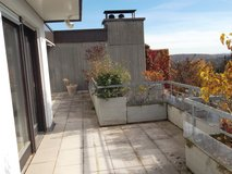 Partly furnished penthouse with a view 3.5 room-apartment in Stgt.- Degerloch-Hoffeld in Stuttgart, GE