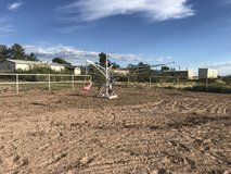 Horse walker in Alamogordo, New Mexico