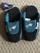 NWT BOY'S SMALL EAGLES SLIPPERS in Naperville, Illinois