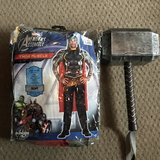 Like New Adult Standard Avengers Thor Muscle Costume in Naperville, Illinois