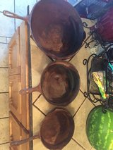 Cast iron pans in Alamogordo, New Mexico