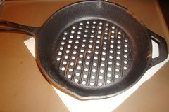 "10.25"" Cast Iron Grill Skillet in Lawton, Oklahoma"