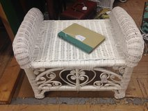 Wicker Ottoman/Bench/Side table in Warner Robins, Georgia
