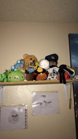 Stuffed animals in Fort Carson, Colorado