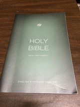 Holy Bible - New Testament, English Standard Version in Naperville, Illinois
