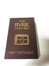 The Ryrie Study Bible - New Testament in Glendale Heights, Illinois
