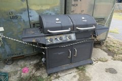 gas grill & choarcoal grill in good cond phone only in Okinawa, Japan