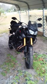 XTZ12EGY, Yamaha Super Tenere, 1200 CC, Color GRY, Mileage less than 11000, Transmission Constan... in Moody AFB, Georgia