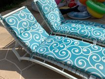 pool lounge chairs in Houston, Texas