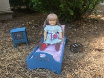 American Girl - bed, night stand and bed warmer (doll not available) in Beaufort, South Carolina