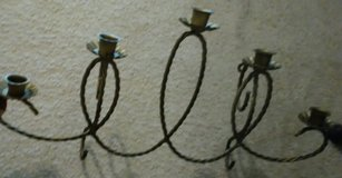 Brass Wall Candle Holder in Fort Gordon, Georgia