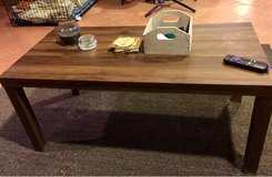 laminate wood coffee table in Yucca Valley, California