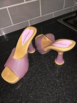 Lilac shoes in Lakenheath, UK