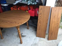 Kitchen Table w/ 2 leafs in Fort Eustis, Virginia