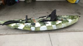 Kayak in Camp Pendleton, California