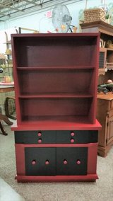 Cabinet w/Hutch in Clarksville, Tennessee