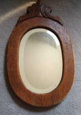 Antique Oval Wall Mirror in Chicago, Illinois