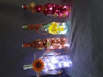 Handmade bottle lights in Cochran, Georgia