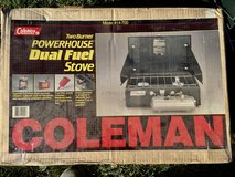 Coleman 2 Burner Powerhouse Dual Fuel Camping Stove in Westmont, Illinois
