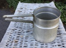 Vintage Aluminum Mirro Double Boiler Pot Camping Cookware 1 ½ qt, in Westmont, Illinois