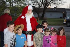 Santa  Claus  Scheduling in Fort Leonard Wood, Missouri