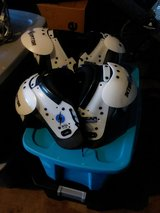 Used one season shoulder pads in Lawton, Oklahoma