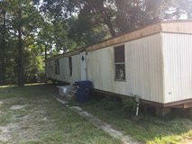 House trailer in Leesville, Louisiana