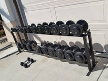 Gym dumbbells weights in Lake Elsinore, California