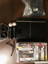 PS3 with games and accessories in Stuttgart, GE