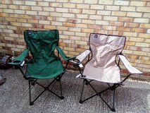 2 Folding Chairs & Bags - Nbr 38 in Lakenheath, UK