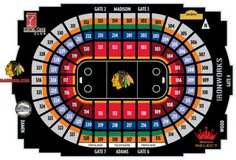 Blackhawks Home Opener October 7 vs Toronto in Joliet, Illinois