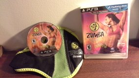 Zumba Fitness Join The Party bonus Belt playstation move PS3 in Naperville, Illinois