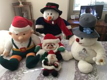 Plush style christmas Dolls in Vacaville, California