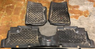 Jeep Wrangler Floor Mats in Fort Leonard Wood, Missouri