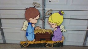 2 Angels with Baby Jesus in Kingwood, Texas