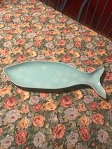 Fish shaped serving plater in Glendale Heights, Illinois