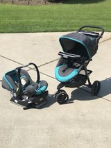 Ingenuity Baby Stroller with Car seat and mount. in Warner Robins, Georgia