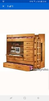 Trundle bunk bed with desk in Camp Pendleton, California