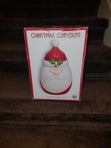 Christmas Cut-Outs Santa Cookie Jar in Fort Campbell, Kentucky