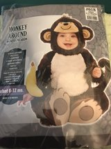 Monkey Halloween Costume 6-12months in Yorkville, Illinois