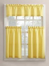 NIP Cheerful yellow curtain set in Naperville, Illinois