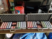 2 FULL SETS!!! Clay Poker Chips in Lawton, Oklahoma