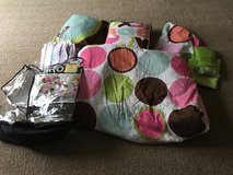 Colorful Polka Dot Bed Set Size twin in Aurora, Illinois