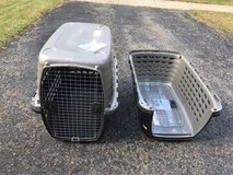 "2 Large dog crates 40"" in Yorkville, Illinois"