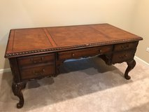 Solid wood desk and chair in Joliet, Illinois