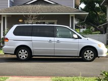 PCS Sale 2002 Honda Odyssey (81,000 Miles) in Schofield Barracks, Hawaii